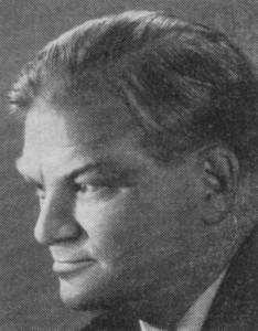 Matti Menandros Mustakallio, MP:n sihteeri 24 vuoden ajan 1954-78.