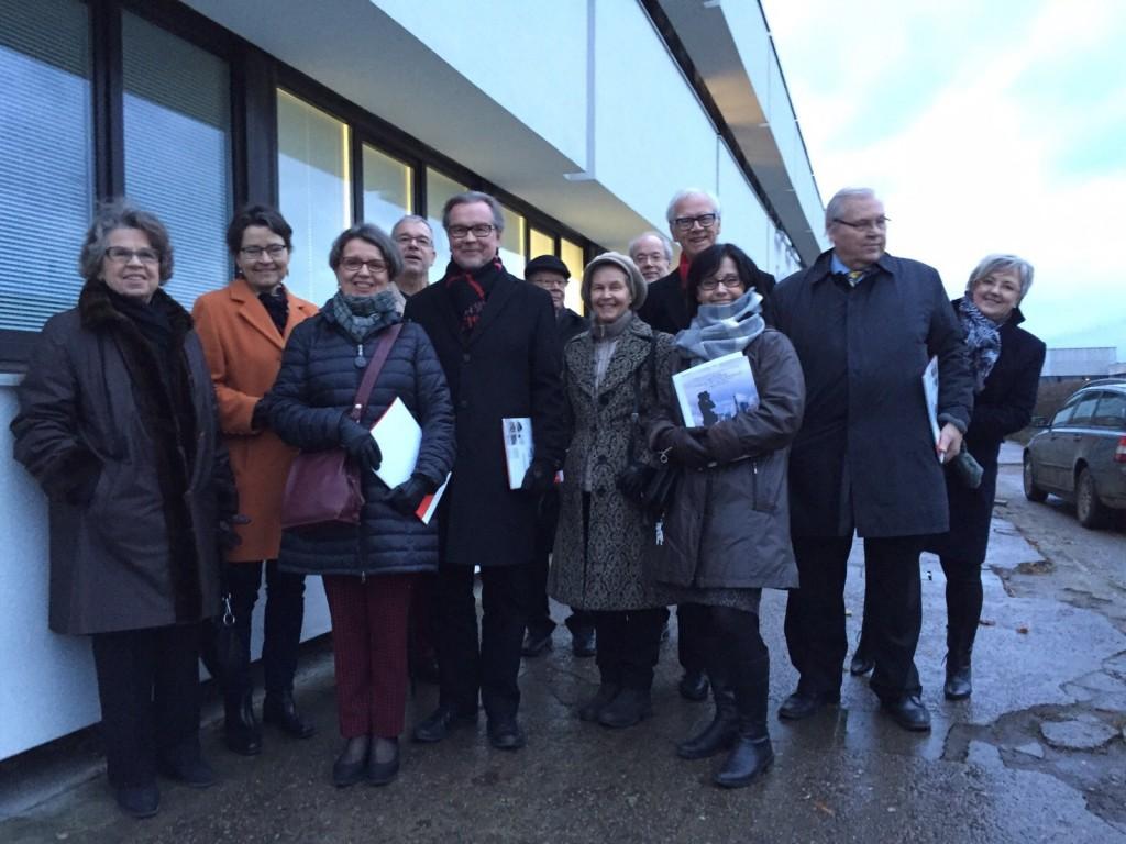 Hallitus vierailemassa Tallinnassa yksityissairaala Fertilitaksessa